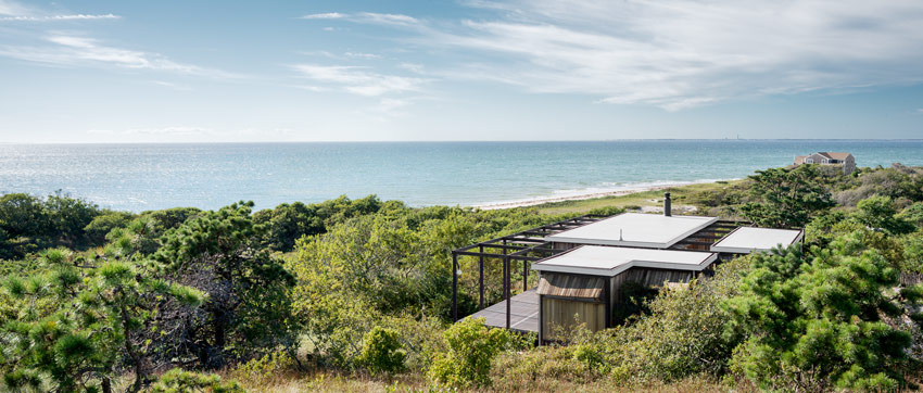 <p>Hatch House, Wellfleet MA</p>                  <p>Architect: Jack Hall</p>